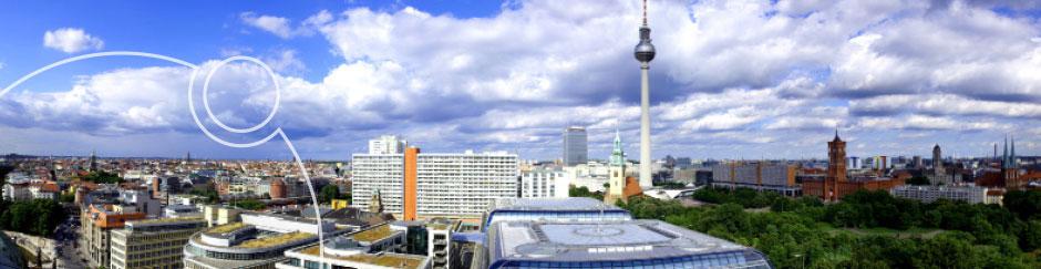 Ansicht von Berlin