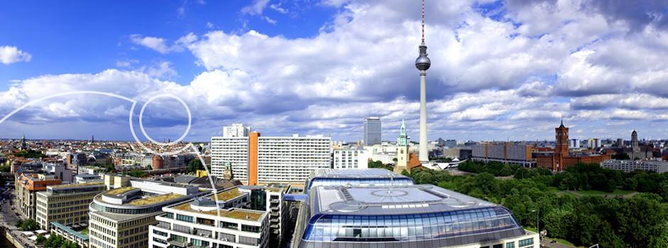 Blick über Berlin Fernsehturm