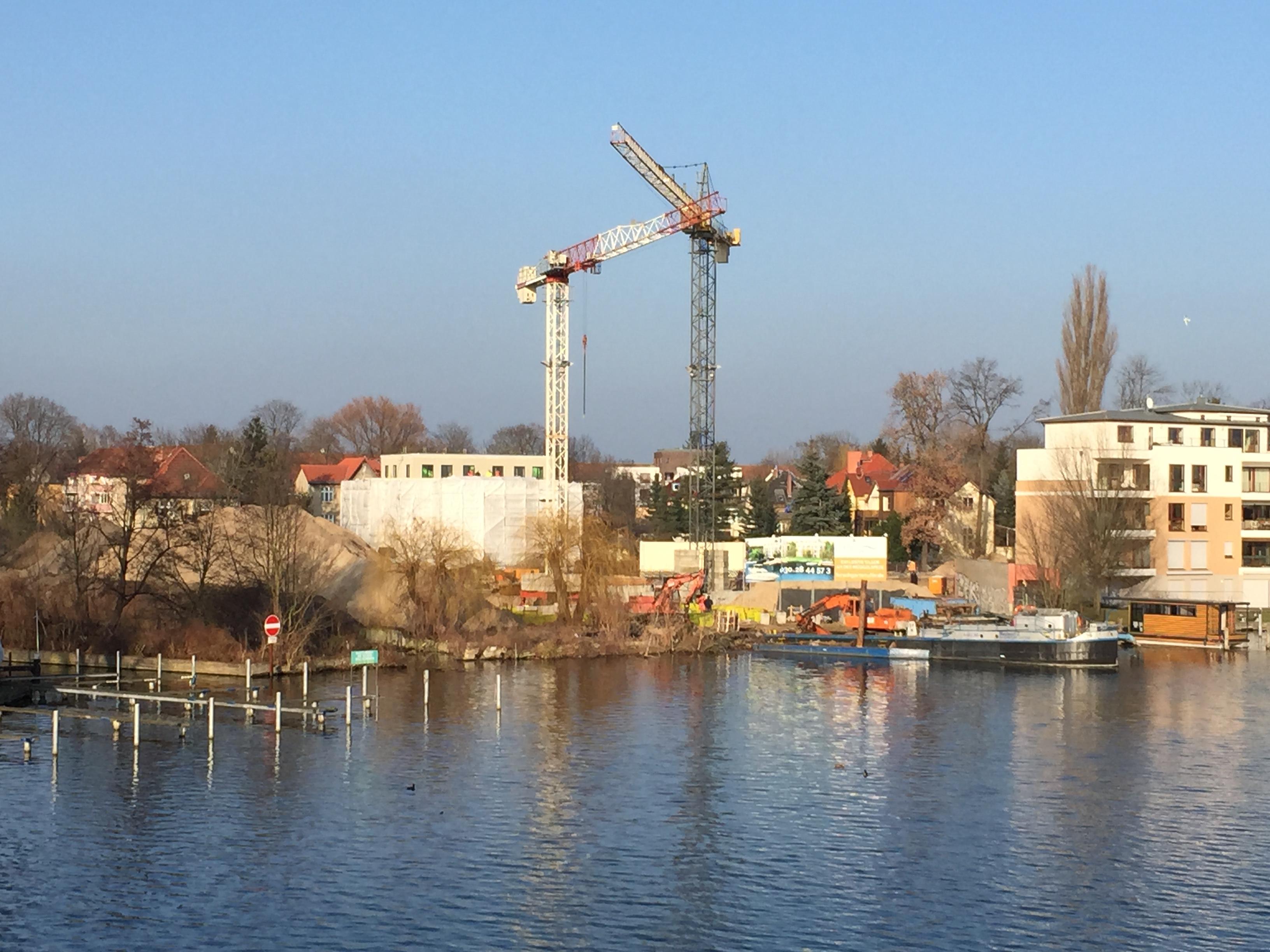 Hirschgarten Wasserseite